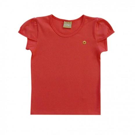 blusa infantil menina em cotton milon roma