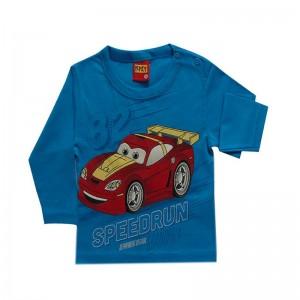 Camiseta infantil menino manga longa