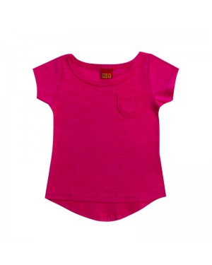 blusa infantil menina flamê pink kyly
