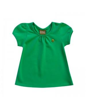bata infantil menina delicada em cotton milon