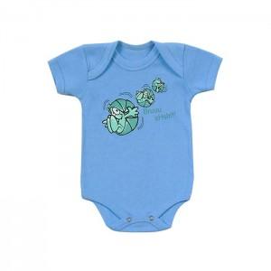 Body para bebê menino estampa de monstrinho