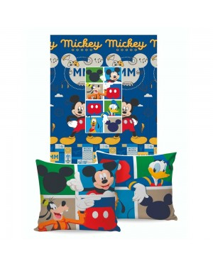 Manta Almofada Disney Jolitex Mickey