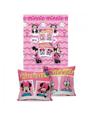 Manta Almofada Disney Jolitex Minnie