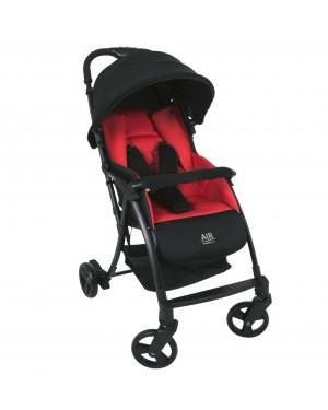 Carrinho de bebê Burigotto Air 5113PRC46 vermelho e preto