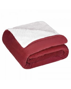 Coberdrom Fleece Dupla Face Queen Estampado Sublime Lepper Bordo