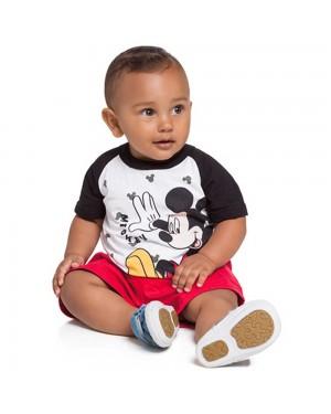 Camiseta Infantil Menino Brandili Mickey