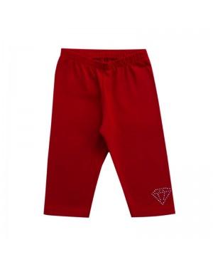 legging menina cotton vermelho Kyly